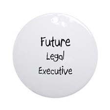 Future Legal Executive Ornament (Round)