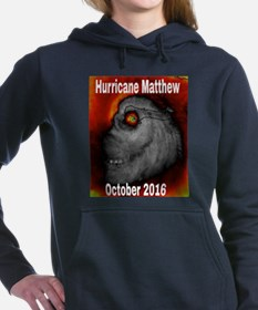 Hurricane Matthew Women's Hooded Sweatshirt