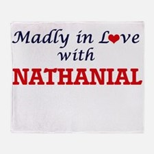 Madly in love with Nathanial Throw Blanket