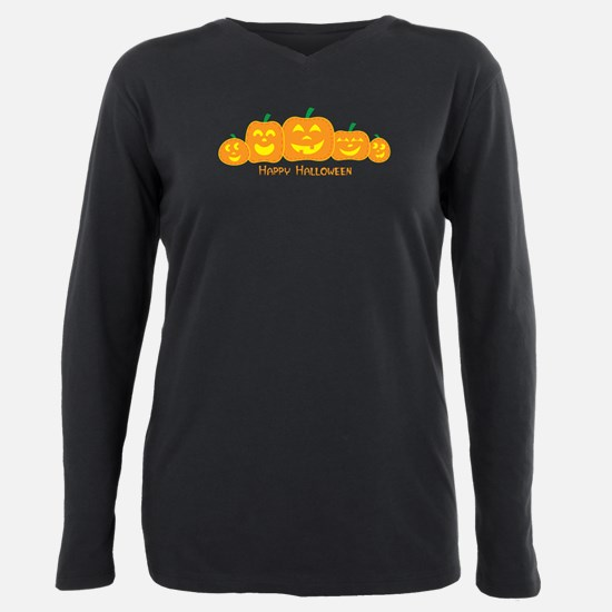 Cool Halloween Plus Size Long Sleeve Tee