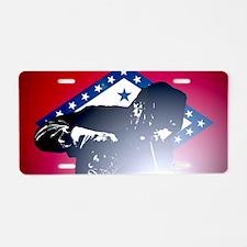 Welding: Arkansas State Fla Aluminum License Plate