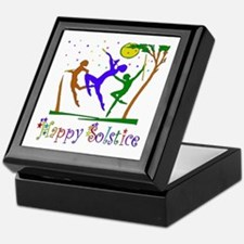 Winter Solstice Dancers Keepsake Box