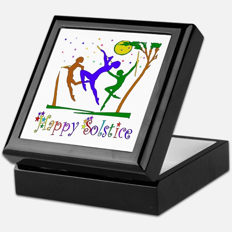 Winter Solstice Dancers Keepsake Box