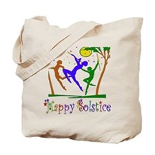 Winter Solstice Dancers Tote Bag