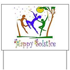 Winter Solstice Dancers Yard Sign