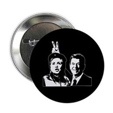 "Ron gives Hillary the rabbit ea 2.25"" Button"