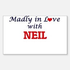Madly in love with Neil Decal