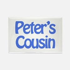 Peter's Cousin Rectangle Magnet