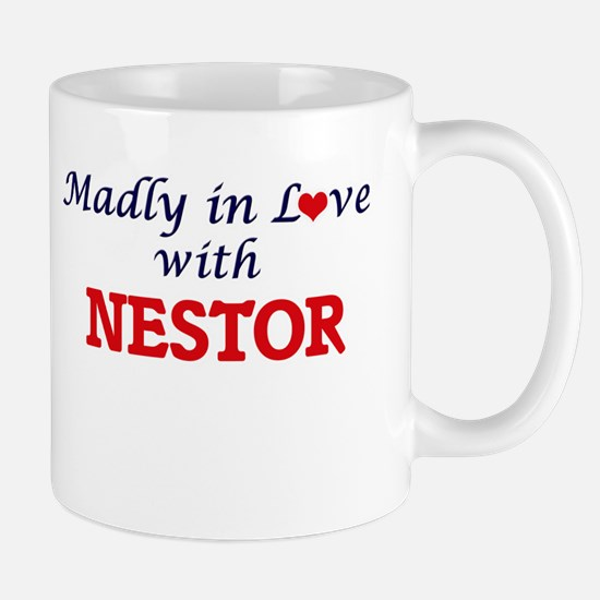 Madly in love with Nestor Mugs