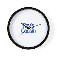 Ray's Cousin  Wall Clock