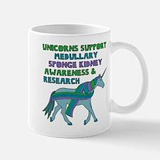 Unicorns Support Medullary sponge kidney Awar Mugs