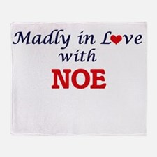 Madly in love with Noe Throw Blanket