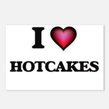 I love Hotcakes Postcards (Package of 8)