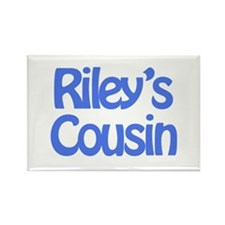Riley's Cousin Rectangle Magnet