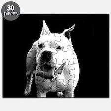 White Boxer Dog Puzzle
