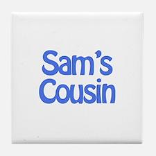 Sam's Cousin  Tile Coaster