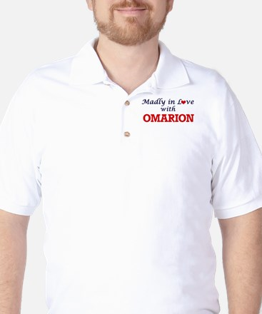 Madly in love with Omarion Golf Shirt