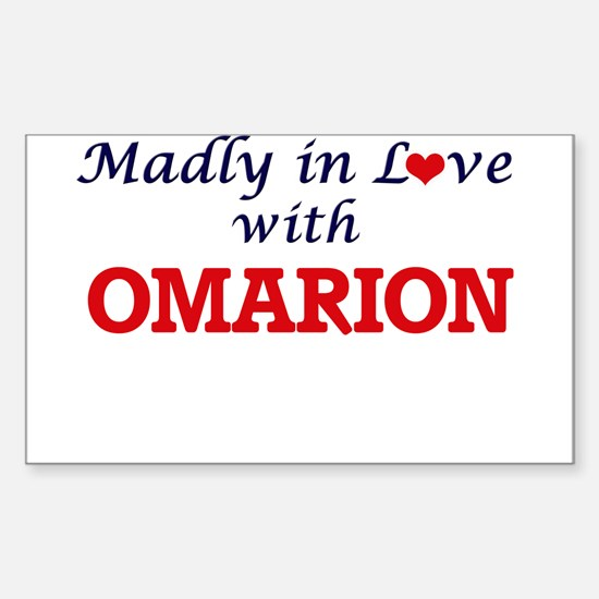 Madly in love with Omarion Decal