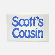 Scott's Cousin Rectangle Magnet