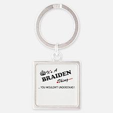 BRAIDEN thing, you wouldn't understand Keychains
