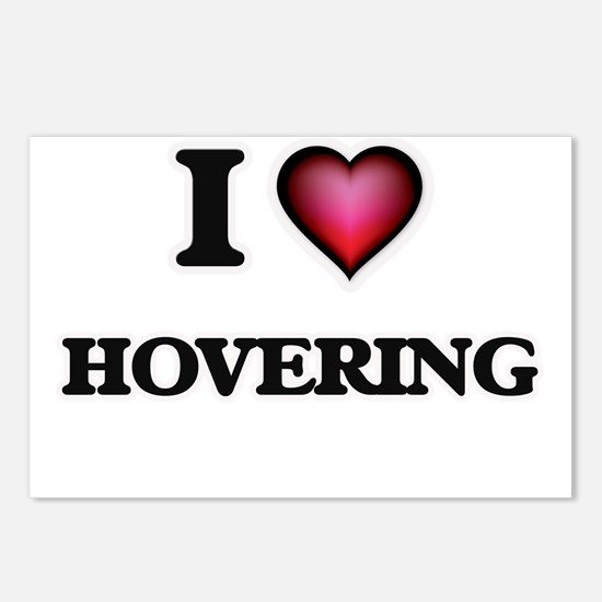I love Hovering Postcards (Package of 8)