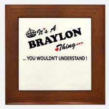 BRAYLON thing, you wouldn't understand Framed Tile