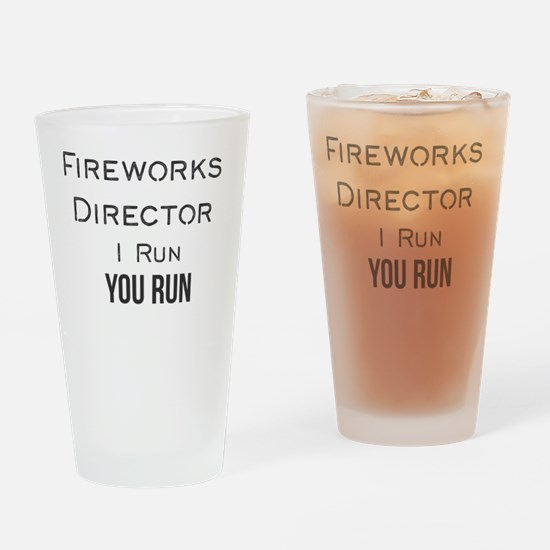 Cute Fireworks Drinking Glass