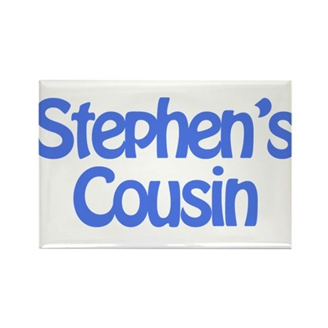 Stephen's Cousin Rectangle Magnet