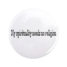 "Spirituality 3.5"" Button"