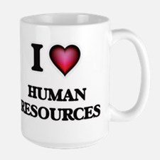 I love Human Resources Mugs