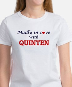 Madly in love with Quinten T-Shirt