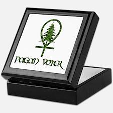 Pagan Voter Keepsake Box