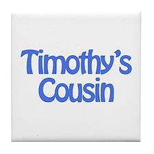 Timothy's Cousin  Tile Coaster