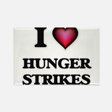 I love Hunger Strikes Magnets