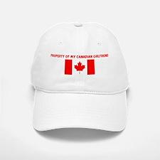 PROPERTY OF MY CANADIAN GIRLF Baseball Baseball Cap