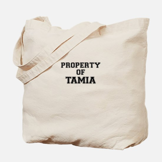 Property of TAMIA Tote Bag