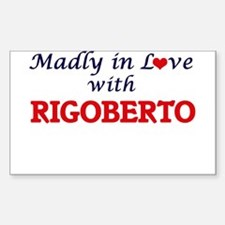 Madly in love with Rigoberto Decal