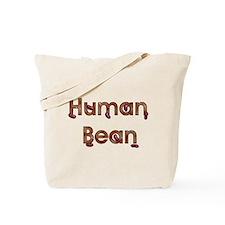 Human Bean Tote Bag