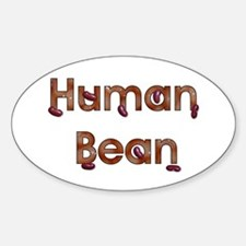 Human Bean Oval Decal