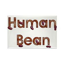Human Bean Rectangle Magnet