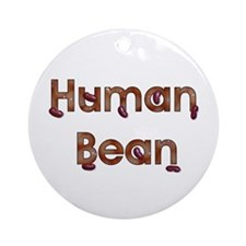 Human Bean Ornament (Round)