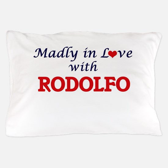 Madly in love with Rodolfo Pillow Case