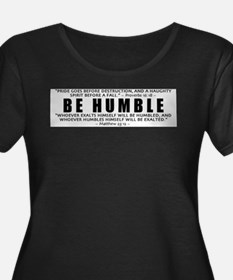Be Humble 2.0 - Women's Plus Size Scoop Neck TS Pl