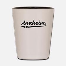 Anaheim CA Retro Logo Shot Glass