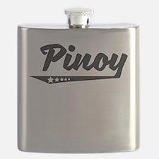 Pinoy Retro Logo Flask