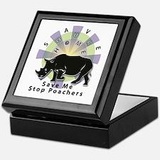 Save Our Home: Rhino 2T Keepsake Box