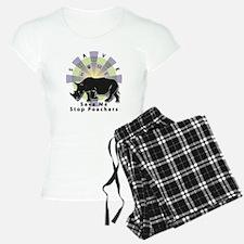 Save Our Home: Rhino 2T Pajamas