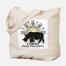 Save Our Home: Rhino 2T Tote Bag