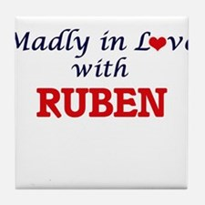 Madly in love with Ruben Tile Coaster