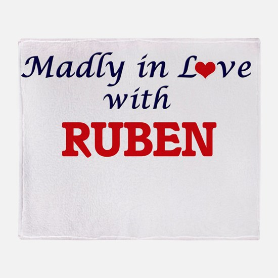 Madly in love with Ruben Throw Blanket